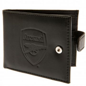 Arsenal Leather Wallet with Anti-Fraud